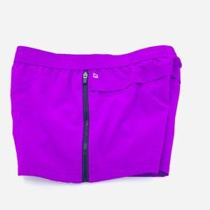 Fabletics Zipper Sides Active Shorts Purple S